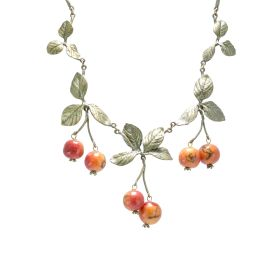 Michael Michaud Crab Apple Necklace