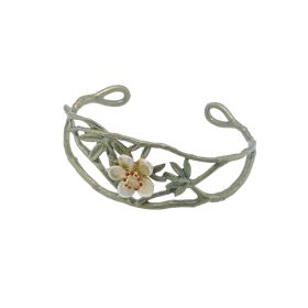 Michael Michaud Tundra Rose Cuff Bangle