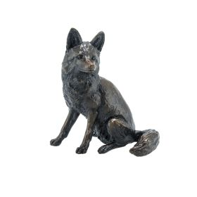 Limited Edition Bronze Fox Sitting
