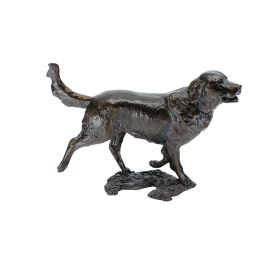 Limited Edition Bronze Retriever