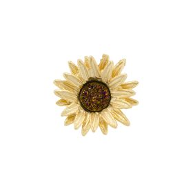 Michael Michaud Sunflower Lapel Pin
