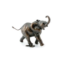 Limited Edition Bronze Baby Elephant Running