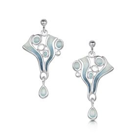 Sheila Fleet Arctic Stream Drop Earrings